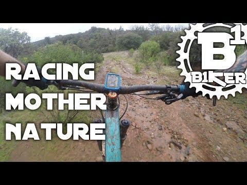 Racing Mother Nature - Auburn SRA - Auburn, Ca - Mountain Biking