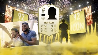 FIRST EVER ICON WALKOUT IN FIFA 19!!!! NEW FUT FORMATIONS & INFO!!!
