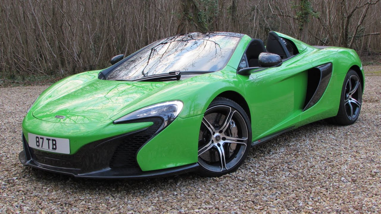 2015 McLaren 650S Spider Start Up, Test Drive, and In Depth Review ...