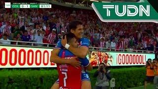 Gol de Alexis Vega | Chivas 1 - 1 Santos | Copa Mx 19 - 20 | J2 | TUDN