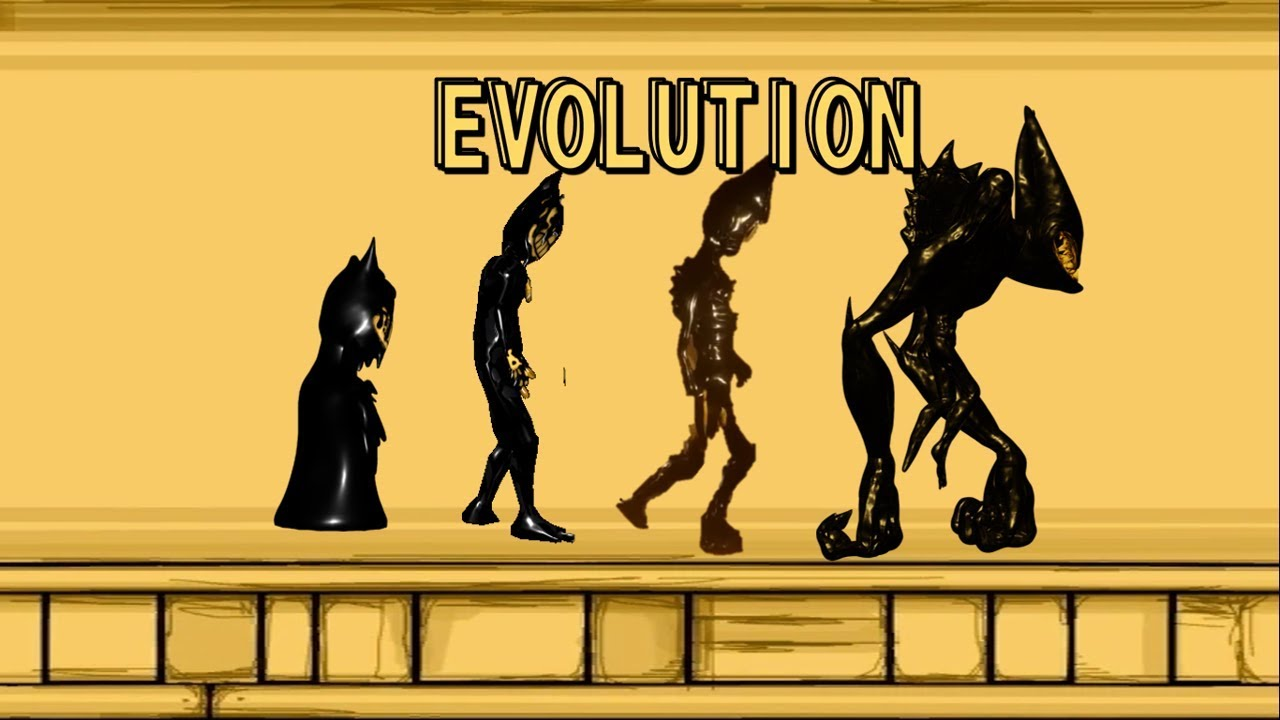 Bendy And The Ink Machine Evolution Of Bendy Youtube