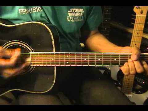 Sia CHANDELIER Guitar Strumming Cover EricBlackmonMusic - YouTube