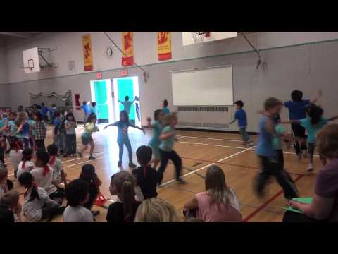 Cameron Elementary School Hip Hop Assembly (2012/6/22)