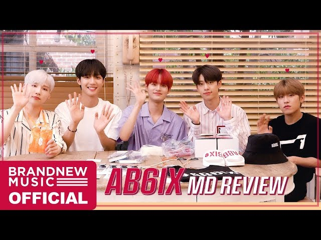 AB6IX (에이비식스) OFFICIAL MD REVIEW