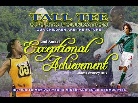 Tall Tee Sport Foundation Exceptional Achievements Award 2017