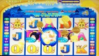 All Stars slot machine at Rivers Casino, 2 Bonuses & line win