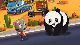 КТО КРУЧЕ? ГОВОРЯЩИЙ КОТ ТОМ - TALKING TOM или/vs МАЛЫШ ПАНДА - Funny Little Baby Panda! #167