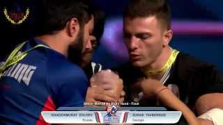 WAF World Armwrestling Championship 2015- Senior MEN FINAL -2015 -RIGHT ARM(Please LIKE AND SUBSCRIBE for more cool ARMWRESTLING action Follow us on Facebook:http://tinyurl.com/lvpl7fe Video source:WORLD ARMWRESTLING ..., 2015-10-05T07:43:35.000Z)