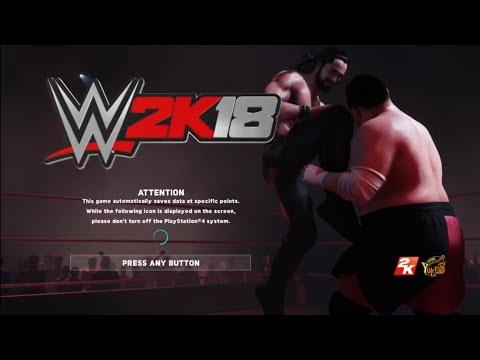 WWE 2K18 --
