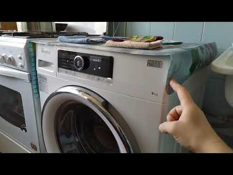 Полный отжим стиральной машины Whirlpool 90420 спустя 3,7 лет.