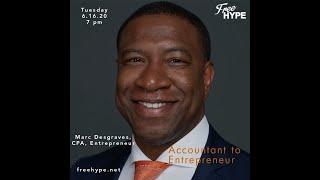 Accountant to Entrepreneur with Marc Desgraves