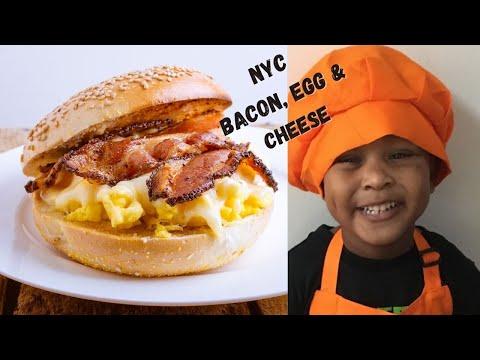 Vegan NYC Bacon Egg and Cheese Sandwich I Tabitha Brown Bacon