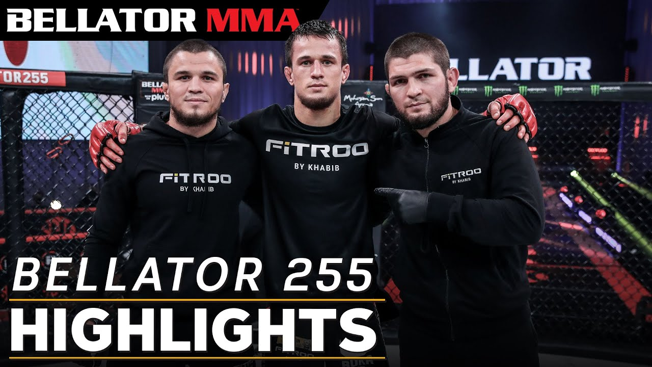 Pitbull vs Sanchez l Nurmagomedov Debut l BELLATOR 255 HIGHLIGHTS