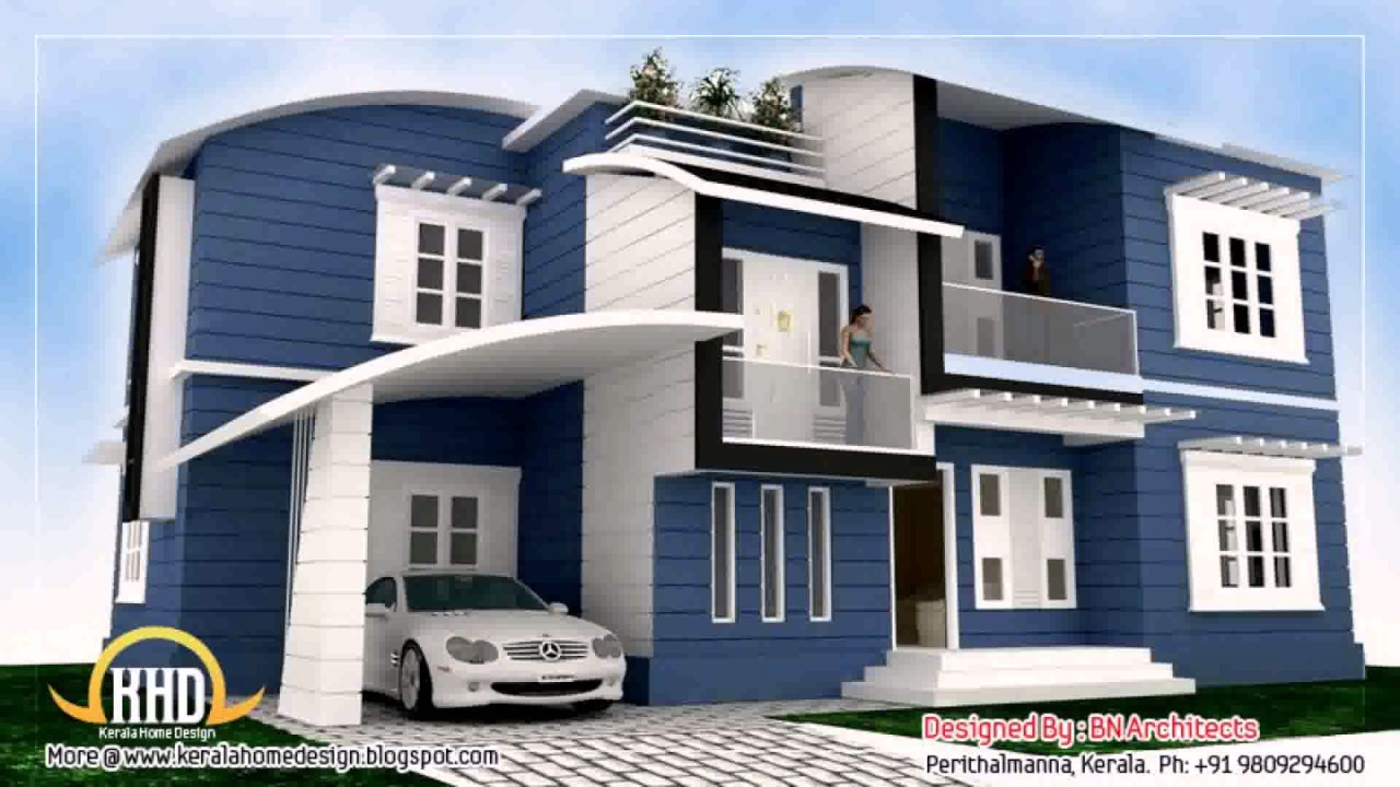 Small house elevation front design in india youtube for Small house elevation in india
