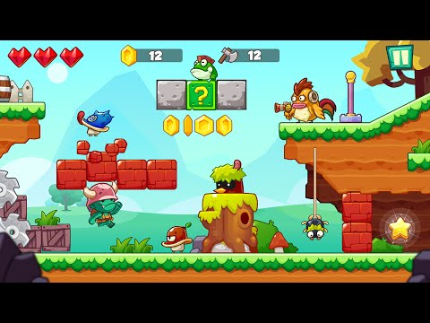 """Jungle Adventures """"Super Jungle World Adventure Games"""" Android Gameplay Video"""