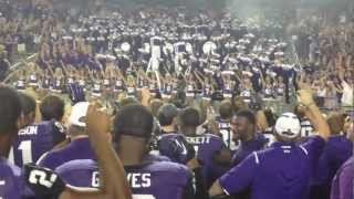 TCU Alma Mater after Grambling game 2012