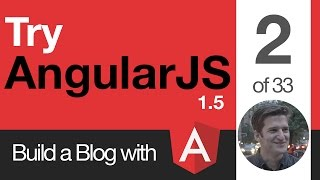 Try AngularJS 1.5 - 2 of 33 - Front End vs Backend
