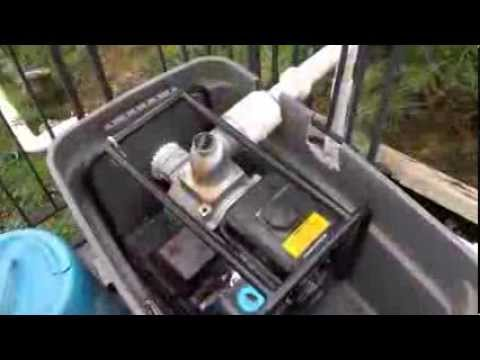 Pump Water From A Lake To A Cabin Or Cottage Mobile