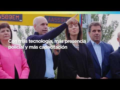 """<h3 class=""""list-group-item-title"""">Para que cada día estés más seguro - Horacio Rodríguez Larreta</h3>"""