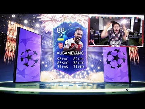 TOTGS PACK OPENING!! WE PACKED IF AUBAMEYANG!! FIFA 19