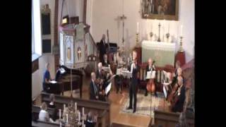 Orchestra Tongivarna plays Brudevalsen by Gade in Torekov 2009