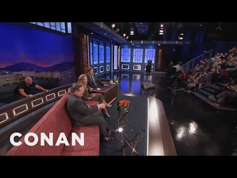 Rebecca Romijn Wants To Be Closer To The Audience  - CONAN on TBS