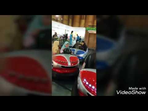 Playing BOM BOM CAR with COUSIN | Nandi + Athiyah + Aisyah + Ara | Palembang Trade Center ~ G life