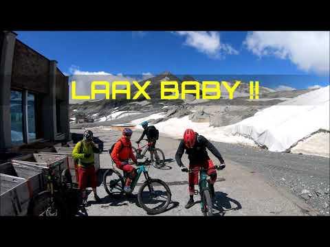 Laax Baby !! Glacier riding
