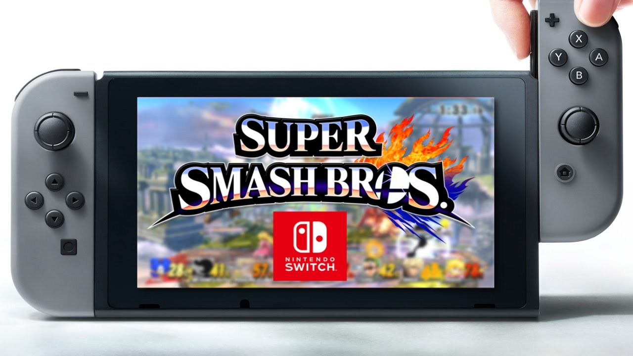 Smash bros Switch Gamers RD
