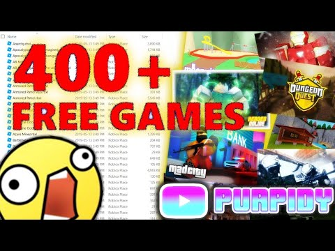 400 Free Uncopylocked Roblox Games 2019 Youtube
