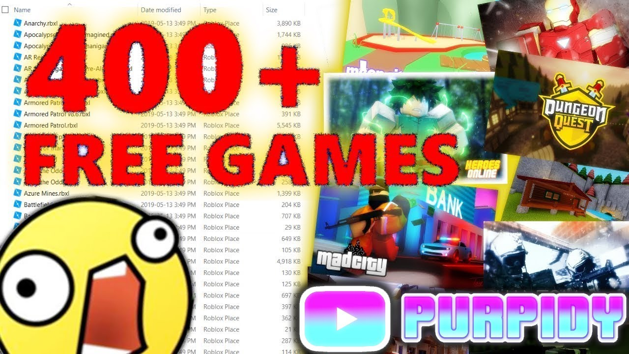 400+ FREE UNCOPYLOCKED ROBLOX GAMES 2019 😱
