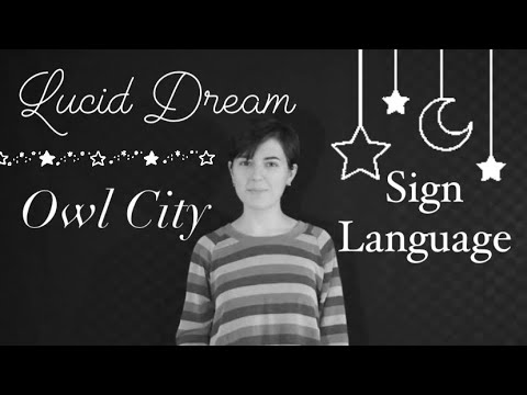 Lucid Dream - Owl City - Interpretive Sign Language