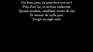 Barbara - L'Aigle noir - Paroles