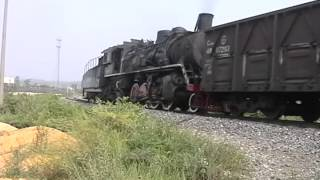 Steam of Guangxi 81 FerroAlloy Railway(Sep.2003) 1 中国八一鉄合金総廠鉄道の蒸気機関車(2003年9月)1