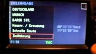 BMW Navi MK4 - POI-Anzeige funktioniert nicht - Loesung s. Beschr.