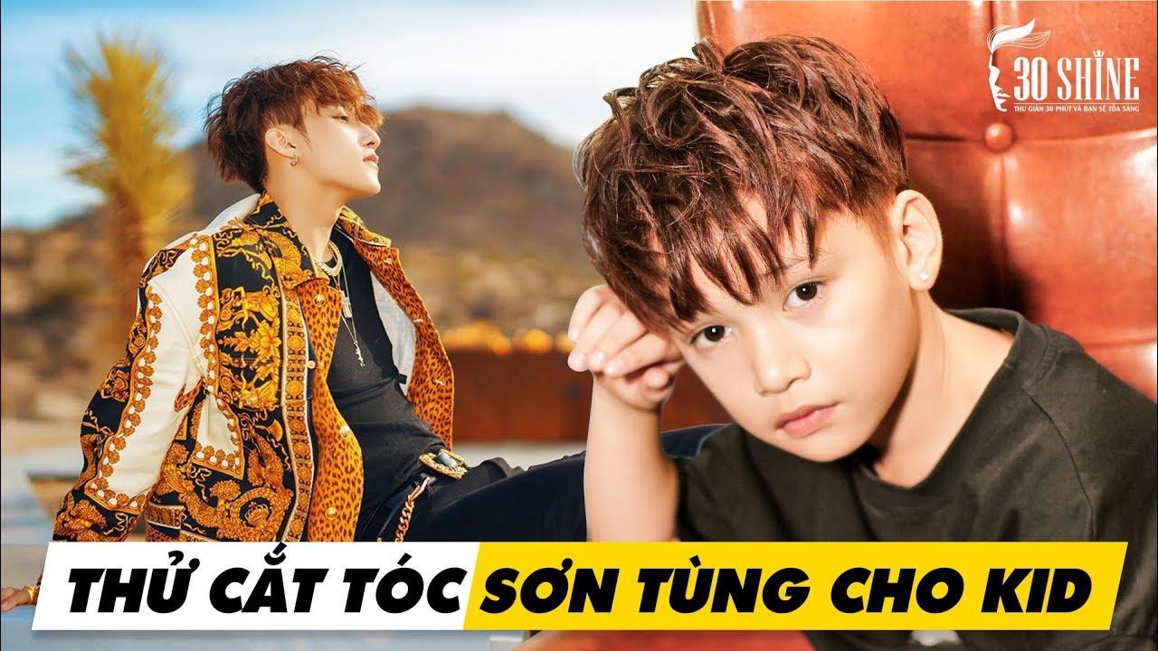 Sơn Tùng MTP Nhí Cắt Tạo Kiểu Layer Xoăn Rối MV 'Hãy Trao Cho Anh ft. Snoop Dogg' – 30Shine