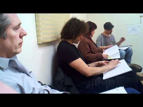 Cast of Europa singing SubSpace Music in Rehearsal at Studio 353.3gp