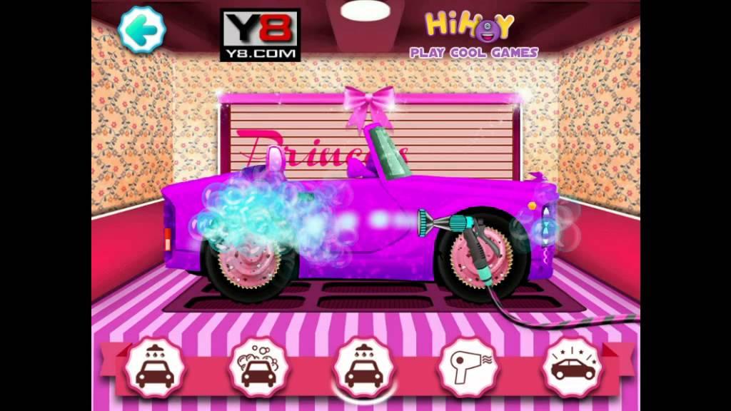 Princess Car Wash Game - Y8.com Online Games by malditha ...
