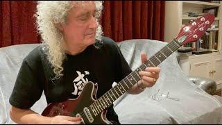Brian May Love of My Life guitar for Kerry Ellis - Microconcert #16 - 10 Apr 2020