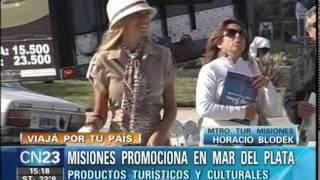 CN23-Seronero. La provincia de Misiones promocionò sus productos turìsticos en Mar del Plata