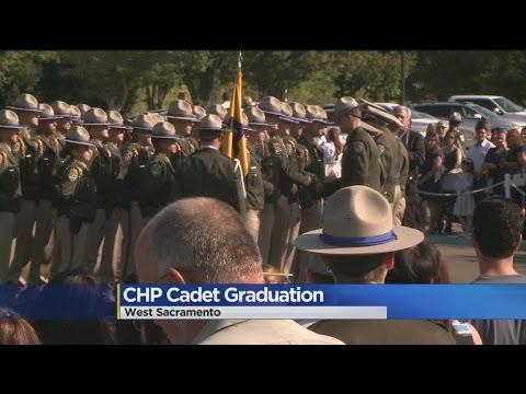 CHP Cadets Graduate From West Sacramento Academy