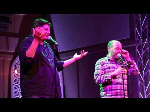H Jon Benjamin & Eugene Mirman Performing At Bob's Burger's Live