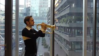 Alex Brain plays the melody from 'Nocturne' transcribed from the al...
