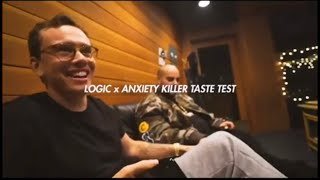 Logic and Berner Test Their New Weed Strain 'Anxiety Killer'