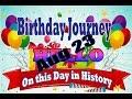 Birthday Journey August 23 New
