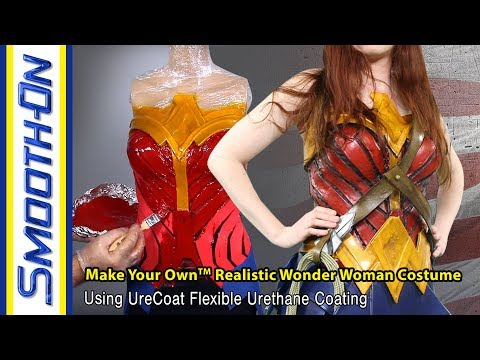 How To Make A Wonder Woman Cosplay Breastplate Using UreCoat Impact-Resistant Coating