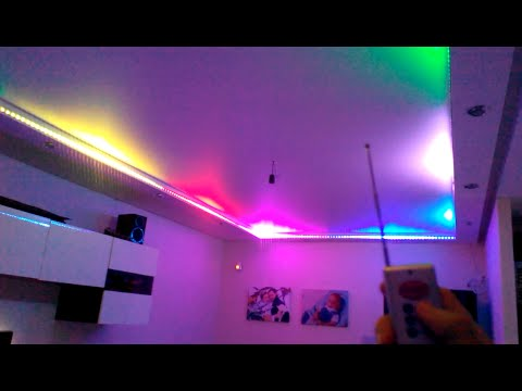 Светодиодная подсветка в квартире. Умные технологии!