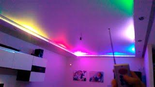 Светодиодная подсветка в квартире. Умные технологии!(, 2015-09-20T20:07:32.000Z)