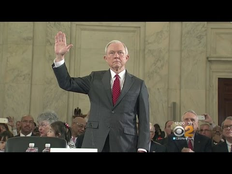 Congress Holds Confirmation Hearing For Sessions