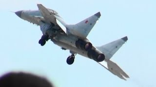MAKS 2015 MiG-35 Demo Flight